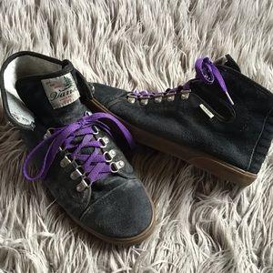 Vintage suede Vans skate shoes, GUC